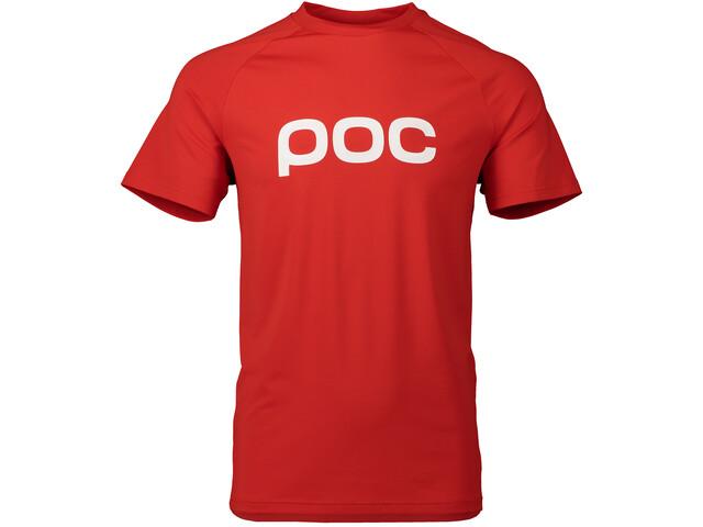 POC Essential Enduro T-shirt Heren, prismane red